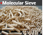 Molecular Sieve, gas dehydration, descant, sulfur removal,  adsorption, regeneration